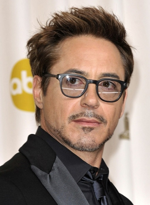 Robert Downey Jr. face closeup