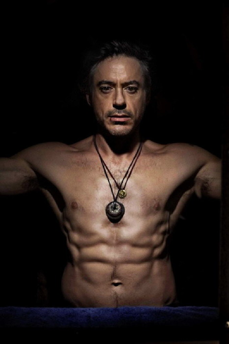 Robert Downey Jr body