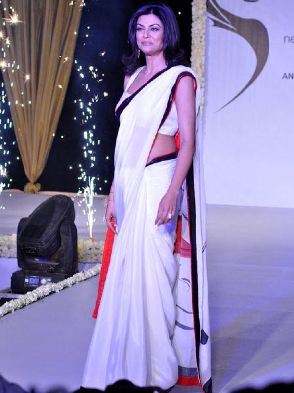 Sushmita Sen during Beti Fashion Show of 2013