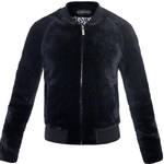 a sauvage shearling bomber jacket