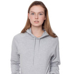 american apparel unisex california fleece pullover hoody