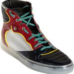 balenciaga multicolor high top sneakers