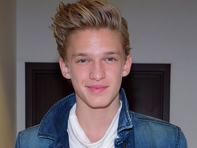 cody simpson face closeup