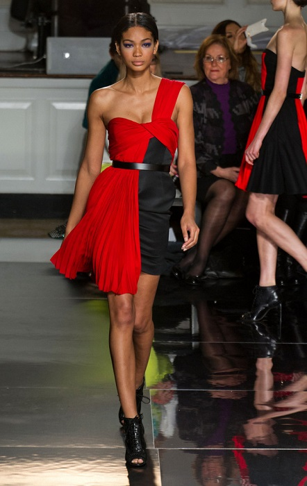 Chanel Iman Jason Wu Catwalk fashion show