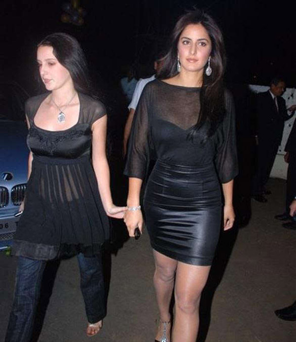Katrina and Isabelle Kaif
