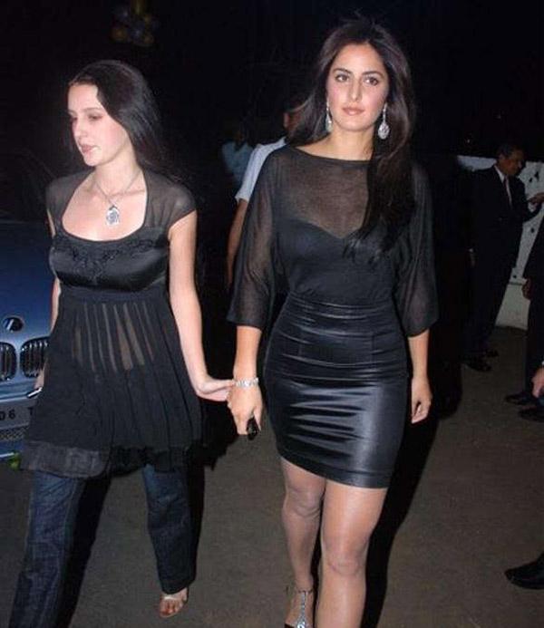 Katrina and Isabelle Kaif