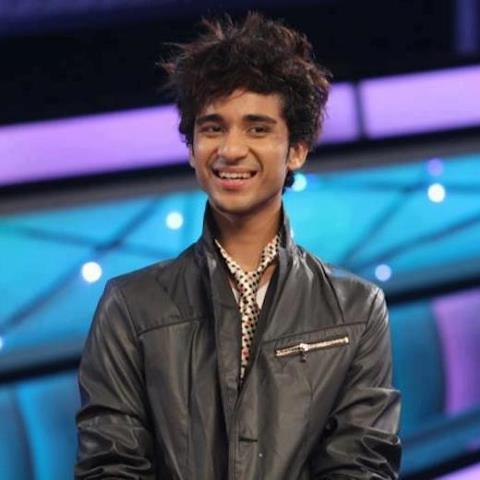 Raghav Juyal Smiling