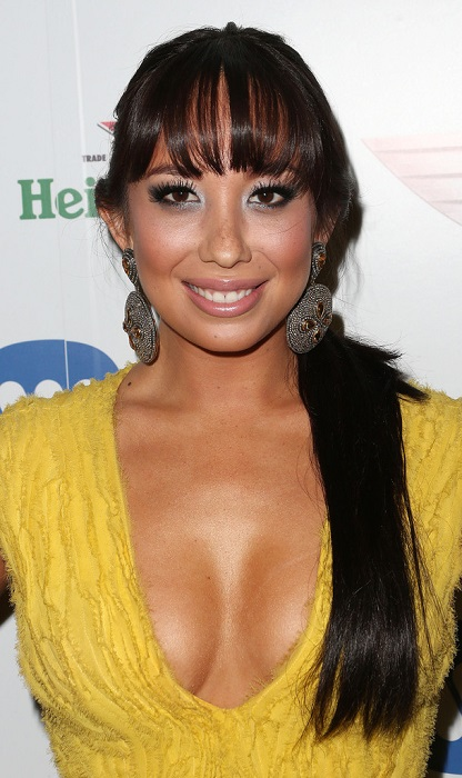 cheryl burke face closeup