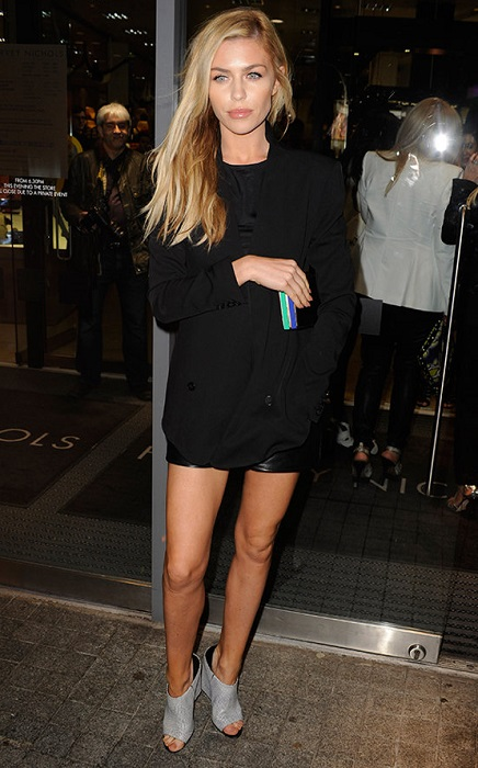 Abbey Clancy weight