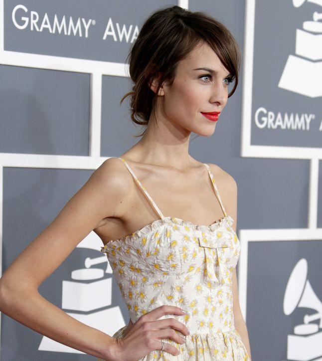 Alexa Chung Grammy Awards 2013
