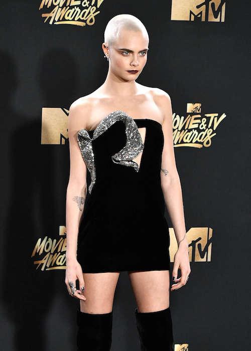 Cara Delevingne at 2017 MTV Movie And TV Awards