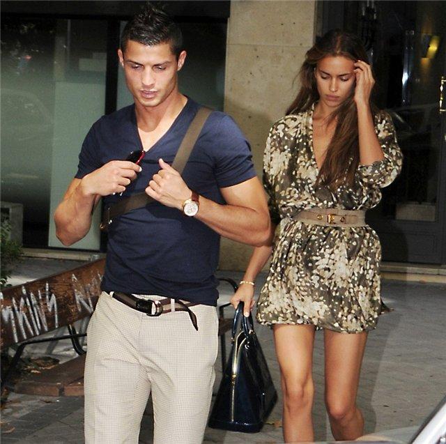 Cristinao Ronaldo and Irina Shayk