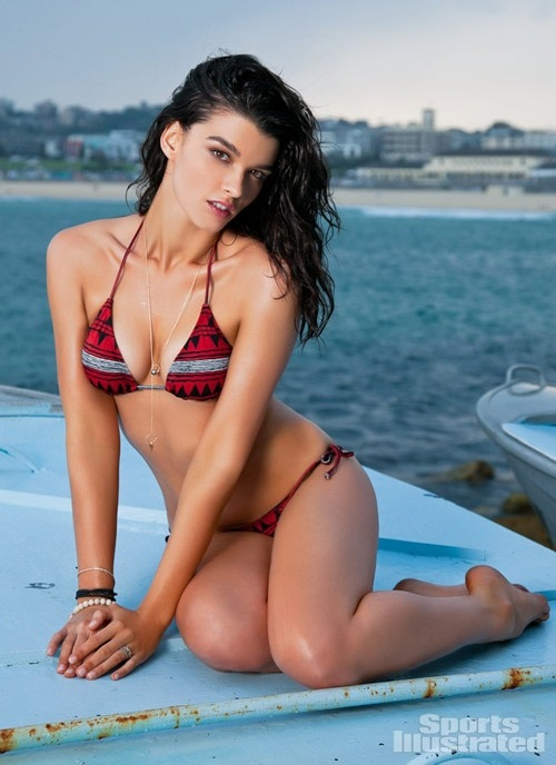 Crystal Renn Sports Illustrated Swimsuit