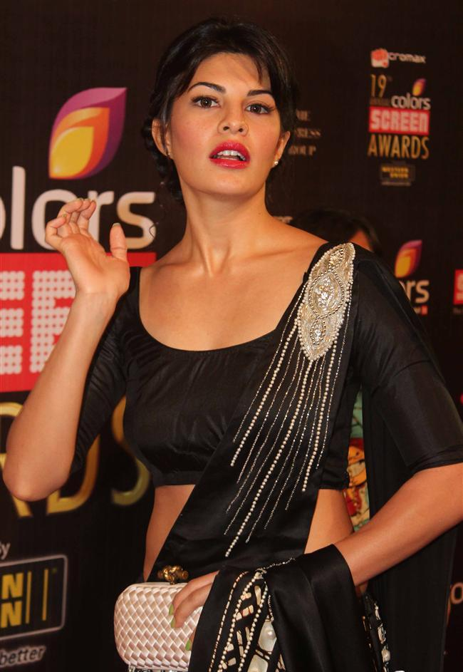 Jacqueline Fernandez Colors Screen Awards 2013