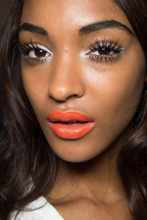 Jourdan Dunn Lips Orange