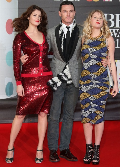 Luke Evans with Hannah Gemma Arterton
