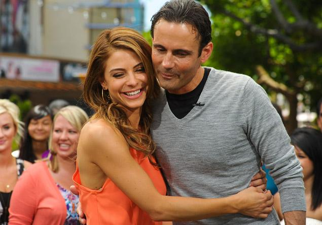 Maria Menounos and Keven Undergaro
