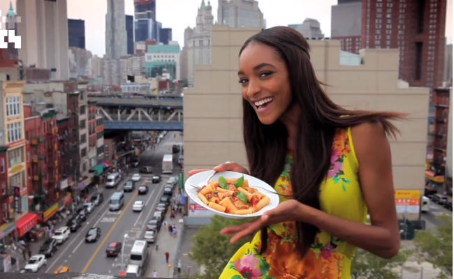 Model Jourdan Dunn Diet