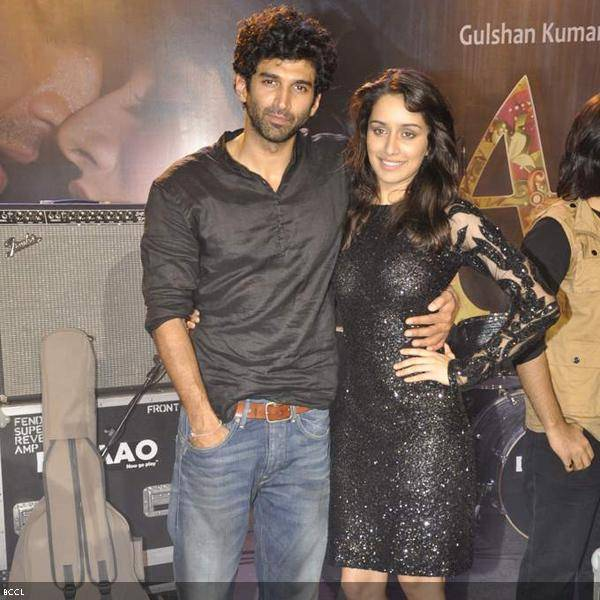 Shraddha Kapoor and Aditya Roy Kapoor