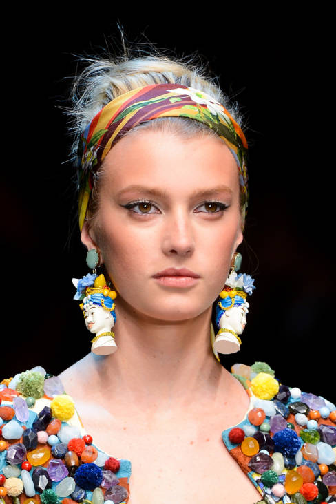 Sigrid Agren dolce and gabbana spring 2013