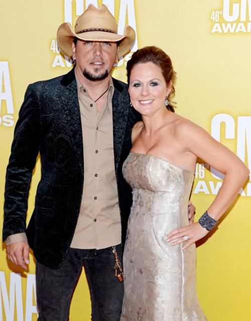 Jason Aldean and ex-wife Jessica Ussery
