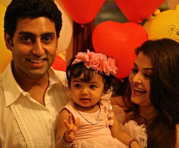 Abhishek Bachchan and Aishwarya Rai daughter Aaradhya