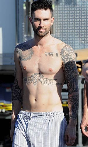 Adam Levine Workout Body