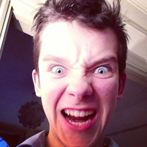 Asa Butterfield horror face