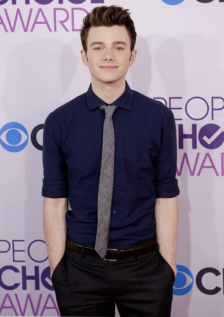Chris Colfer Height 179 cm