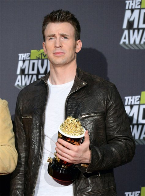 Chris Evans 2013 MTV Awards