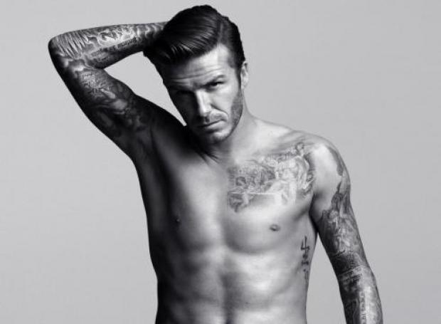 David Beckham Body Tattoo