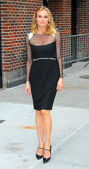 Diane Kruger tiny frame