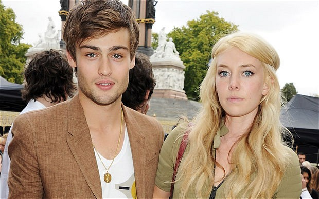 Douglas Booth and Vanessa Kirby