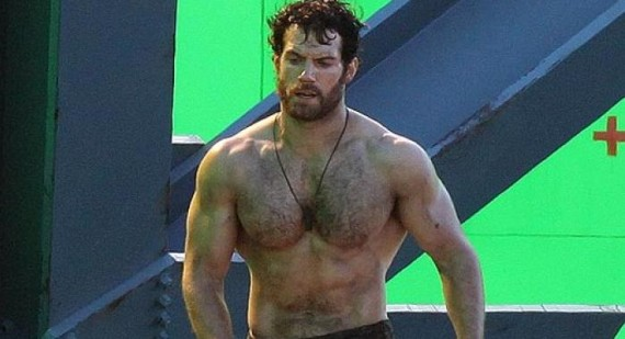 Henry Cavill Workout for Man of Steel