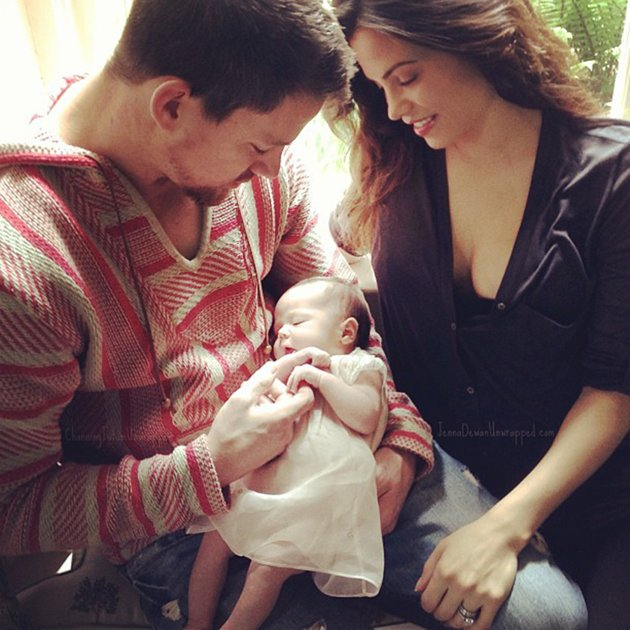 Jenna Dewan and Tatum Channing Tatum