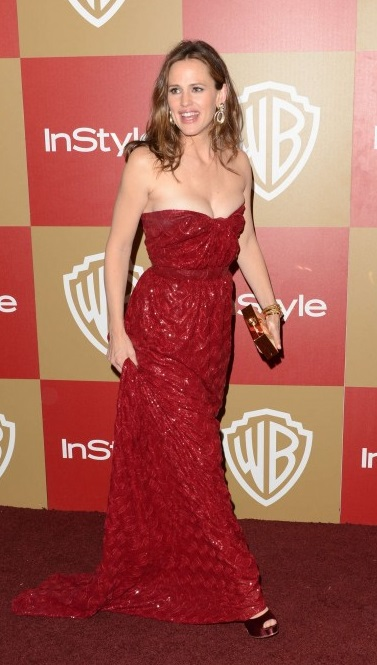 Jennifer Garner red dress