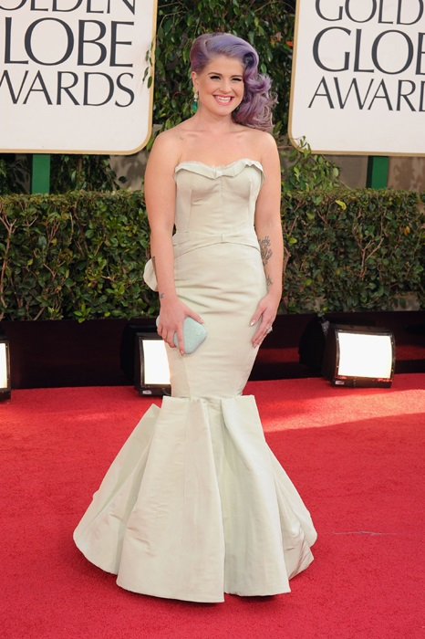 Kelly Osbourne during Golden Globe Awards