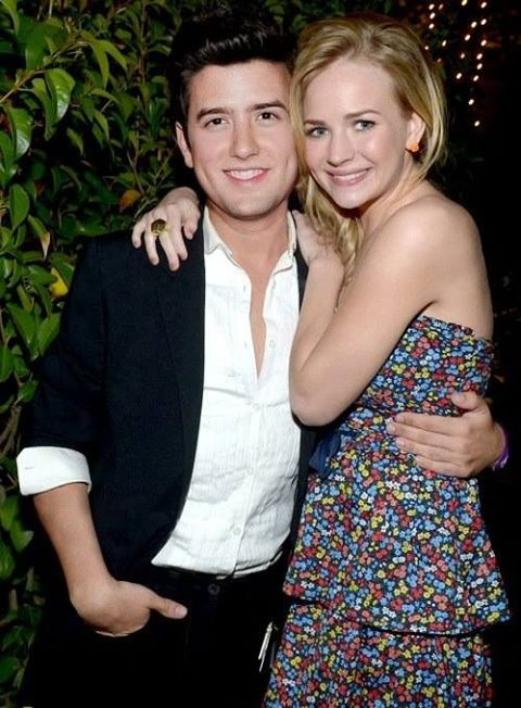 Logan Henderson girlfriend Britt Robertson