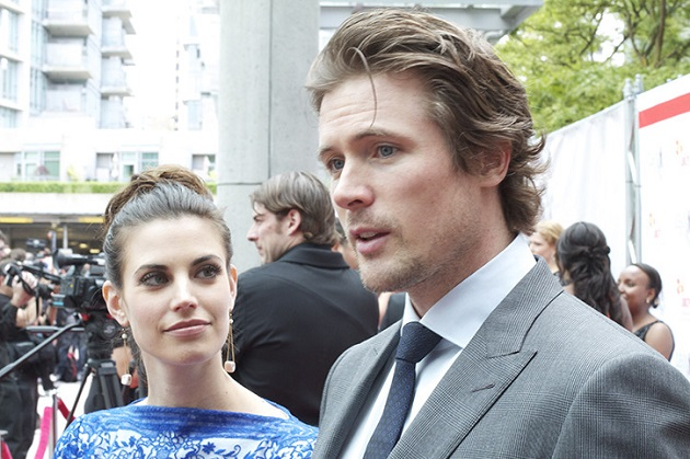 Meghan Ory and John Reardon