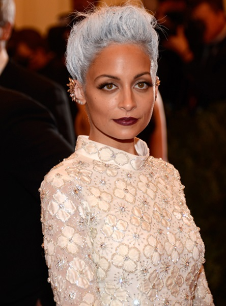 Nicole Richie as a fashion designer