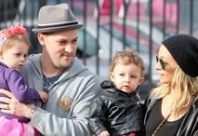 Nicole Richie, Joel Madden and kids