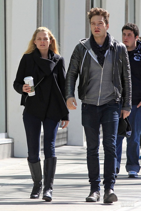 Jennifer Morrison and Sebastian Stan