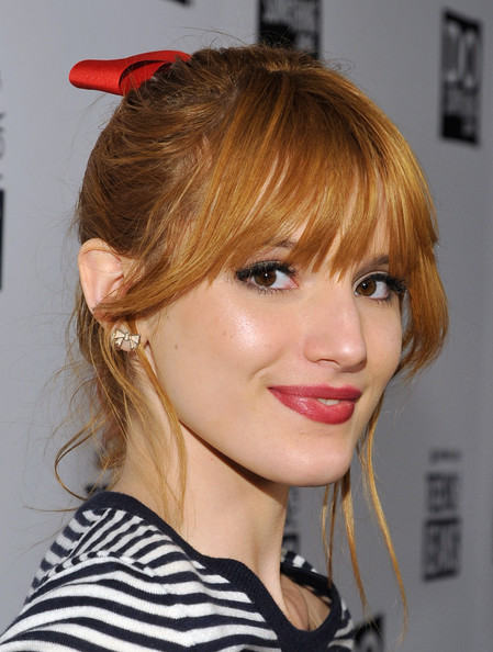 bella thorne red hair