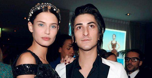 Bianca Balti and Francesco Mele