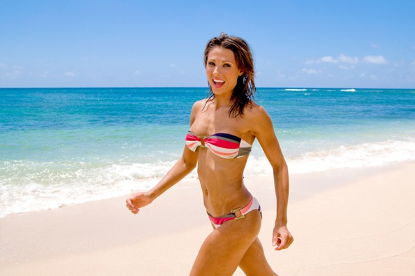 bikini workouts. Read how you can make your bikini body on Healthy Celeb.