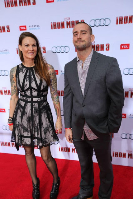 Amy Dumas and CM Punk