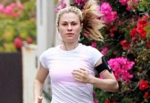 Anna Paquin Running Workout