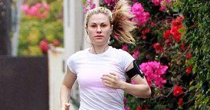Anna Paquin Running Workout
