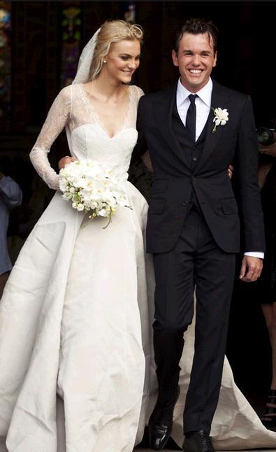 Caroline Trentini and Fabio Bartelt