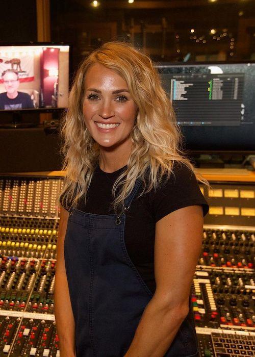Carrie Underwood as seen in 2020
